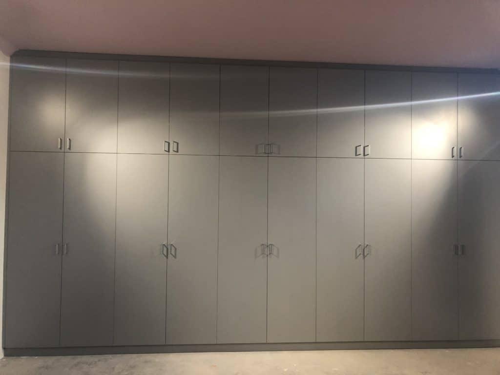 Custom Hinged door wardrobe storage