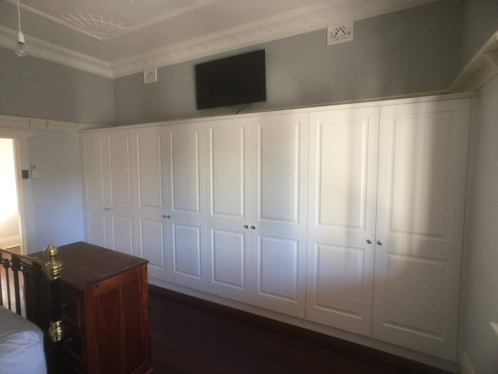 Hinged Door Wardrobe in bedroom Perth