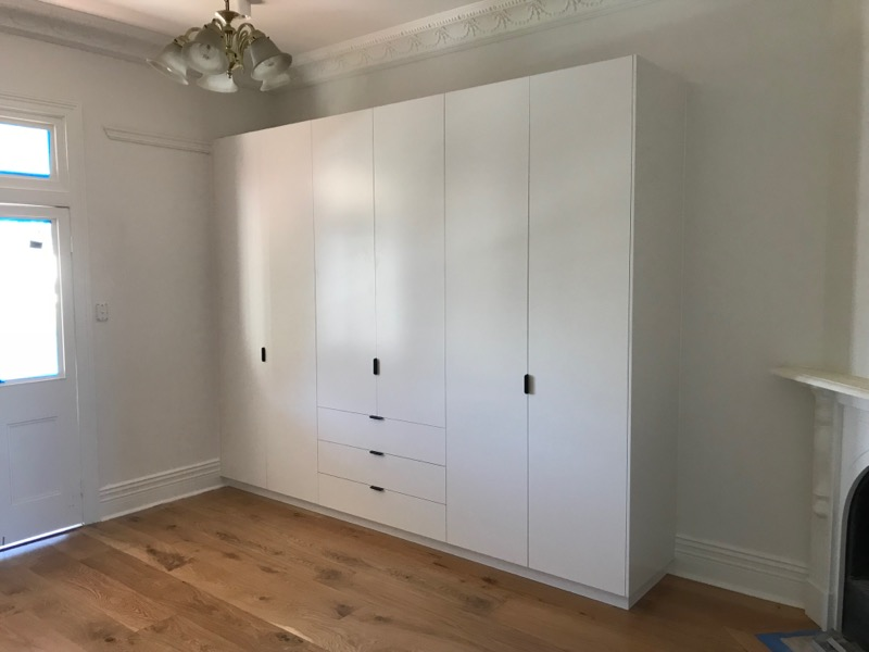 Custom hinged door wardrobe