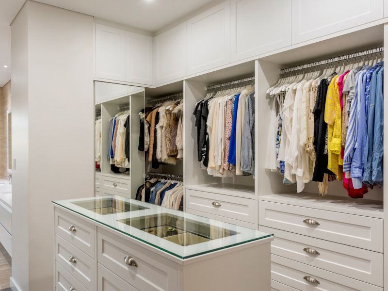 Walk in wardrobe in Nedlands