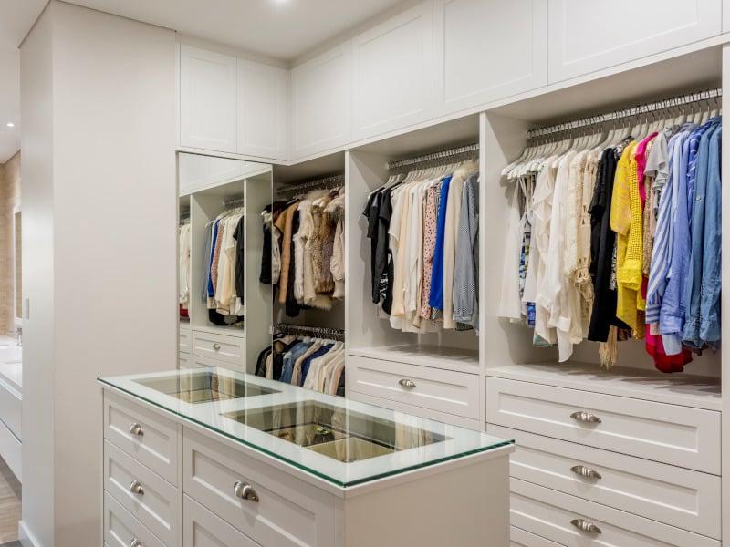Walk in wardrobe in Nedlands