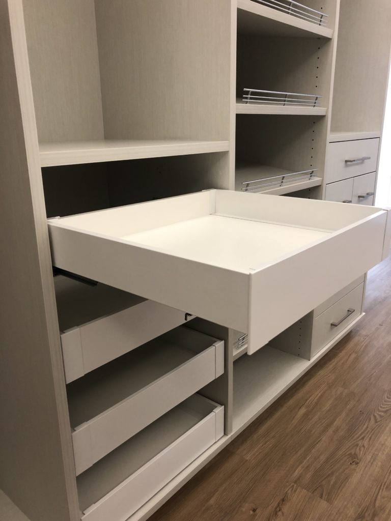 Slide out drawers