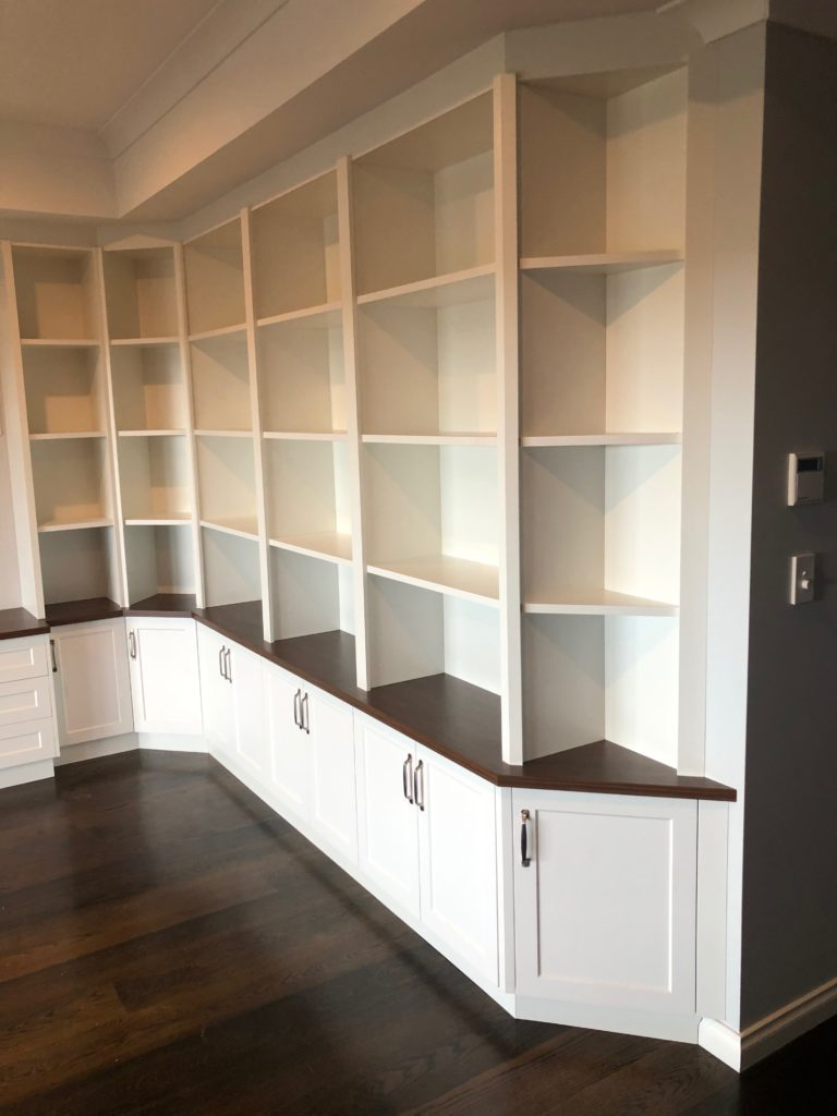 Office shelving and cupboards